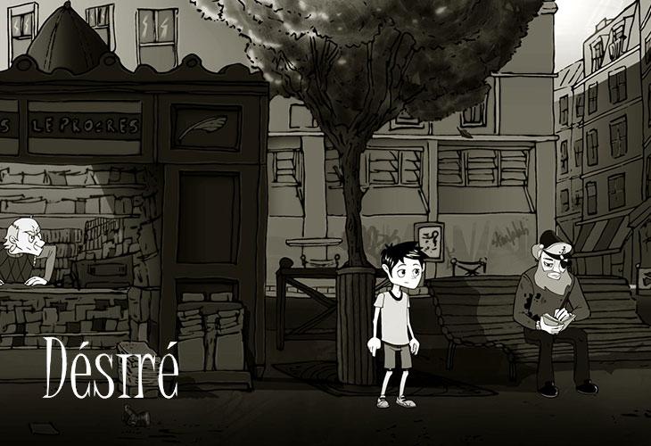 Desire - игра, квест 2016