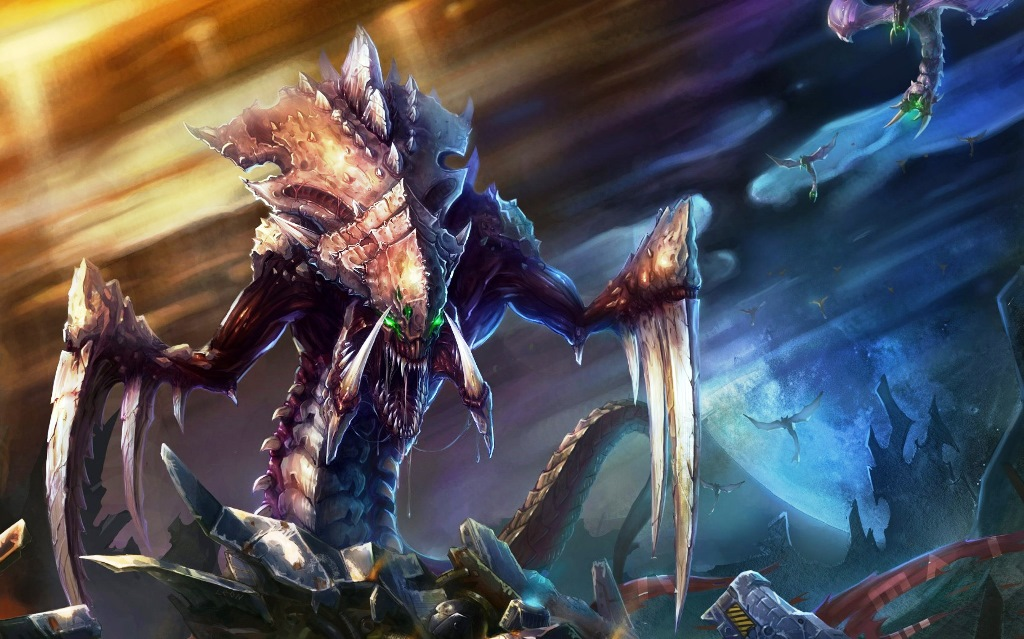 Обзор игры StarCraft 2