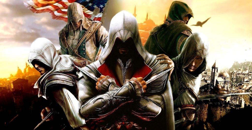 Список всех частей по порядку Assassins Creed