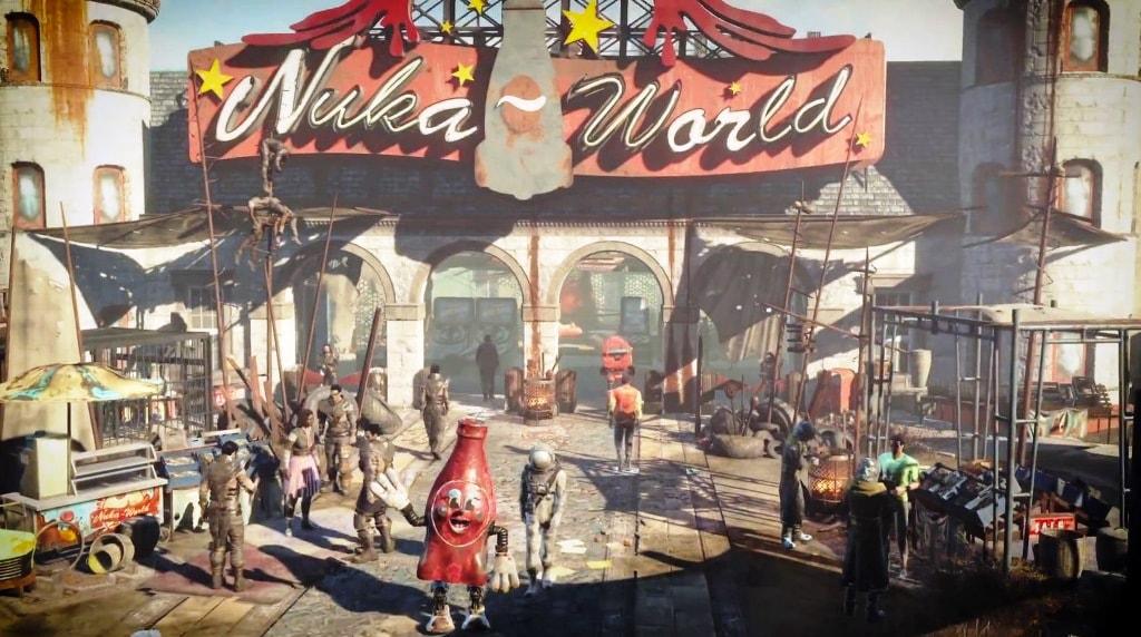 Fallout 4 Nuka World: драгоценные медальоны. Прохождение.