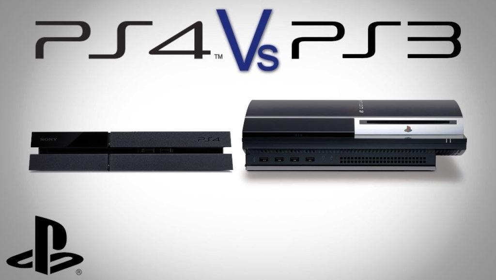 Отличие PS3 от PS4