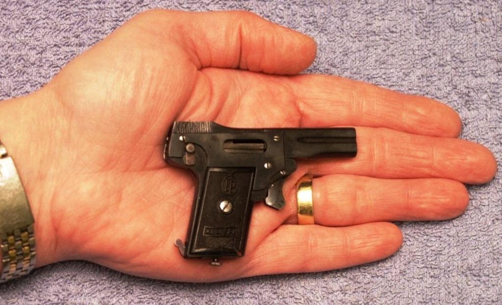 самый маленький пистолет в Battlefield 1