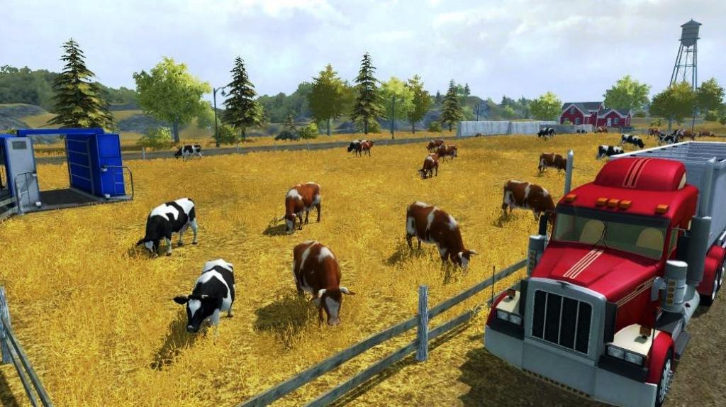 Farming Simulator 2017 - как купить коров, свиней и овец