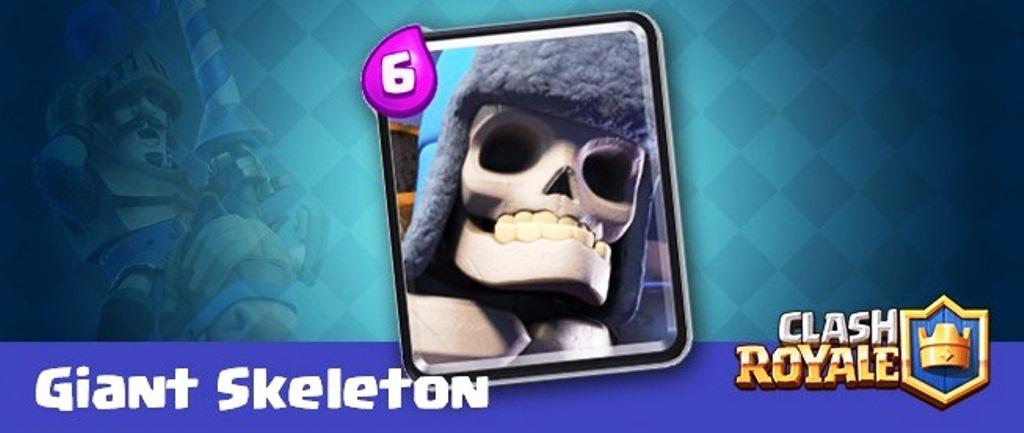 Гигантский скелет в Клеш Рояль