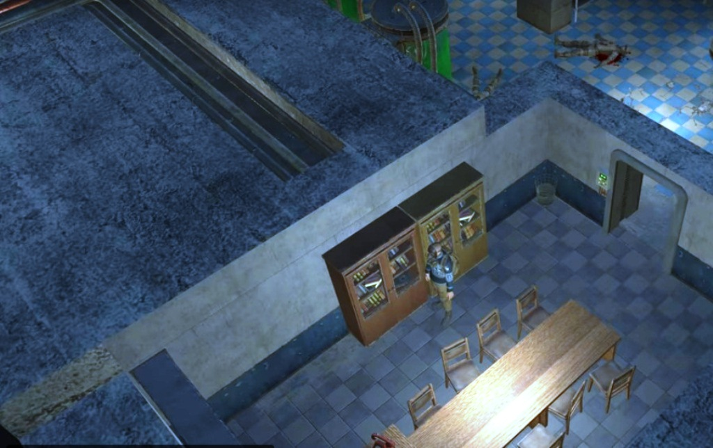 Atom RPG - как отодвинуть шкаф в бункере 317