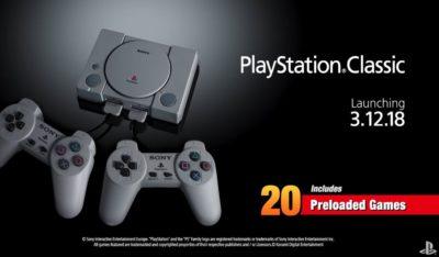 PlayStation Classic дата выхода, список игр